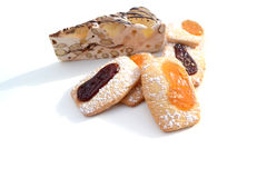 Cookies with nougat Stock Photo