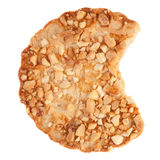 Cookies with a nut crumb. Stock Photo