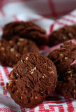 Cookies with nuts Stock Image