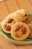 Cookies nuts fotos de stock royalty free
