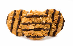 cookies with nuts Stock Images