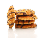 Cookies with nuts Royalty Free Stock Photo