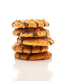 Cookies with nuts Royalty Free Stock Image