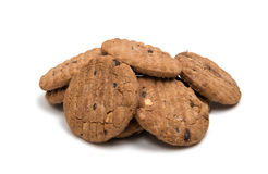 Cookies with nuts Royalty Free Stock Photos
