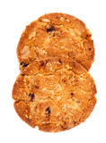 Cookies Oat meal with strawberry. Stock Photo