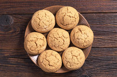 Cookies oatmeal Stock Images