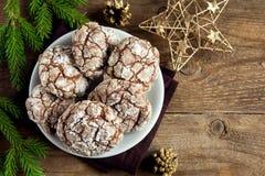 Cookies para Chrismas Imagens de Stock