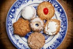 Cookies para o chá Imagem de Stock