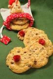 Cookies para o Natal Fotos de Stock Royalty Free