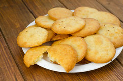 Cookies with Parmesan Stock Images