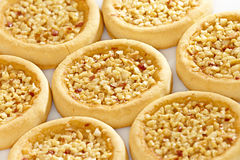 Cookies with peanuts Stock Image