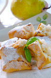 Cookies with pear filling. Sweet cookies with pear filling Stock Image