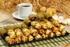 Cookies with pistachio Stock Photo