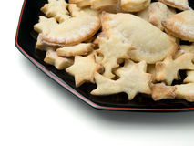 Cookies on the plate Royalty Free Stock Images
