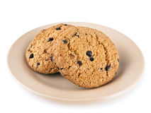Cookies on the plate Royalty Free Stock Photography