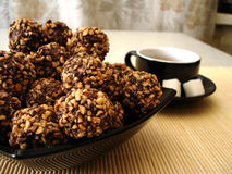 Cookies on a plate Stock Photo
