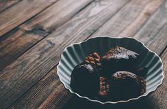 Cookies On Plate Royalty Free Stock Photography