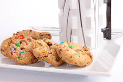 Cookies on plate Stock Photography