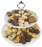 Cookies Plates Cutout Royalty Free Stock Image