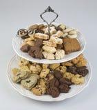 Cookies Plates Royalty Free Stock Photos