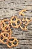 Cookies pretzels Stock Images