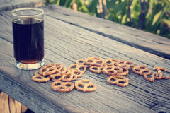 Cookies pretzels Royalty Free Stock Photos