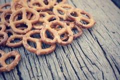 Cookies pretzels Stock Image
