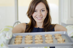 Cookies are ready! Royalty Free Stock Photo