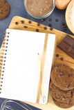 Cookies recipe Stock Photos
