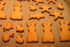 Cookies saborosos Fotos de Stock Royalty Free