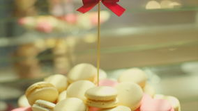 Cookies saborosos do casamento video estoque