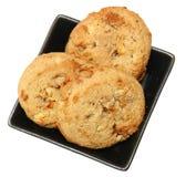 Cookies salgadas sem glúten do caramelo fotos de stock royalty free