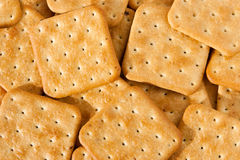 Cookies, Saltine cracker. Square cookies, Saltine cracker, background Royalty Free Stock Images