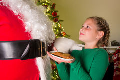 Cookies for santa claus Stock Photo