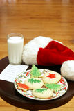 Cookies for Santa Stock Photos