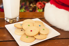Cookies for Santa Royalty Free Stock Photos