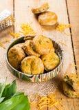 Cookies saudáveis caseiros Imagem de Stock Royalty Free