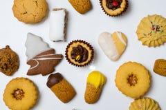 Cookies secas da pastelaria Imagem de Stock Royalty Free