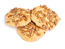 Cookies with seeds Stock Photos