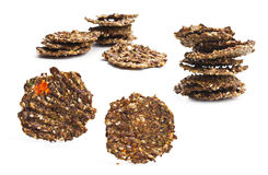 Cookies sem glúten saudáveis do vegetariano Foto de Stock Royalty Free