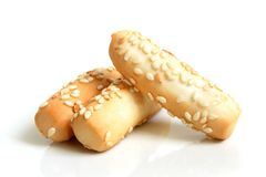 Cookies with sesame Royalty Free Stock Photo
