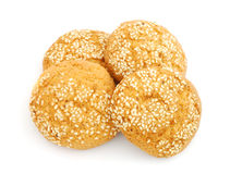 Cookies with sesame Stock Photo