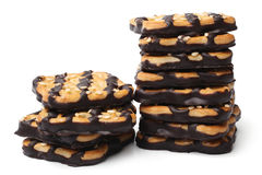 Cookies with sesame and chocolate Royalty Free Stock Photo