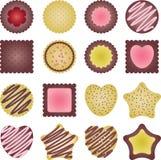Cookies set Stock Photos