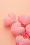 Cookies in the shape of hearts Royalty Free Stock Photo