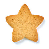 Cookies in the shape of star isolated Stock Image