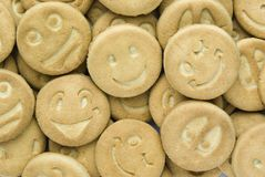 Cookies a smile Royalty Free Stock Image