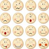 Cookies Smiles Stock Image