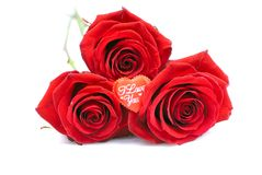 Cookies sob a forma do coração ao dia de Valentim em um whi Imagens de Stock