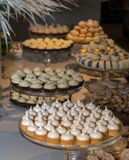 Cookies sortidos de todos os tipos Foto de Stock Royalty Free
